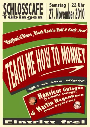 Teach Me How To Monkey